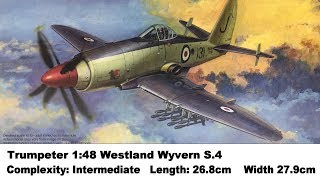 Trumpeter 1:48 Westland Wyvern S.4 Kit Review