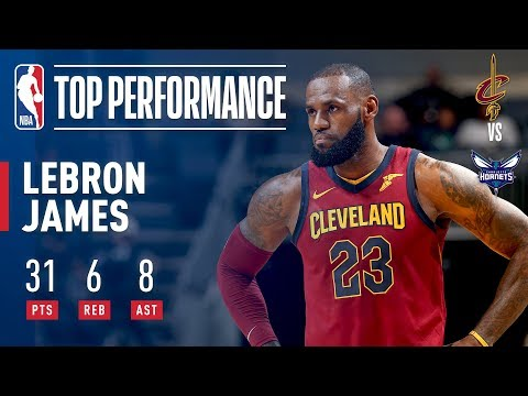 LeBron James Soars For 31 As Cavs Win 3rd Straight   November 15, 2017