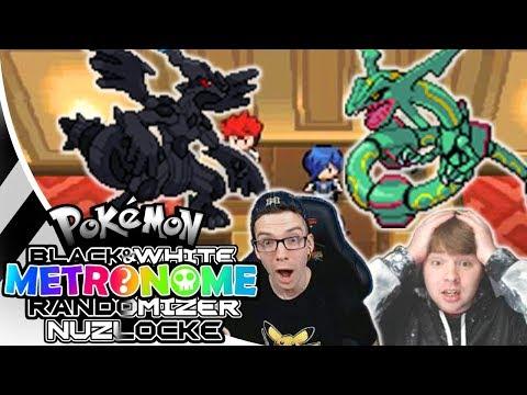 Legendary Pokemon EVERYWHERE! Pokemon Black and White Metronome Randomizer Nuzlocke #2