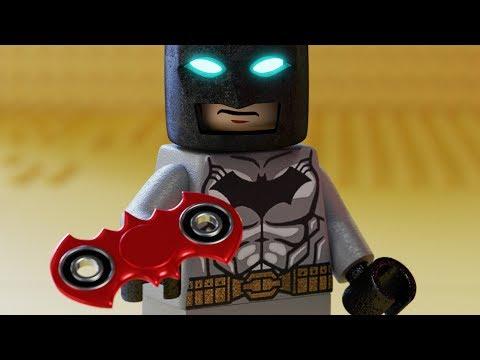 Lego Batman Fidget Spinner Tricks