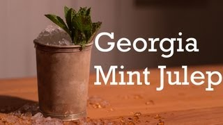 Georgia Mint Julep cocktail from Better Cocktails at Home