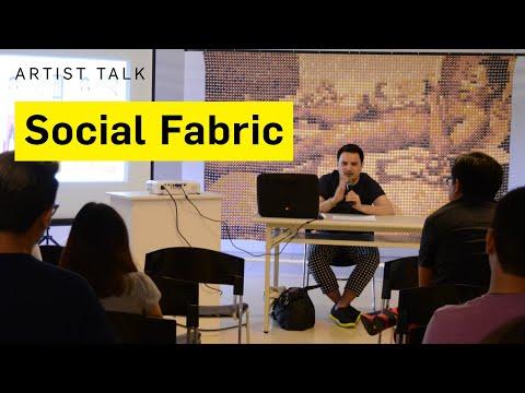 Artist Talk – 'Social Fabric' by Karl Castro