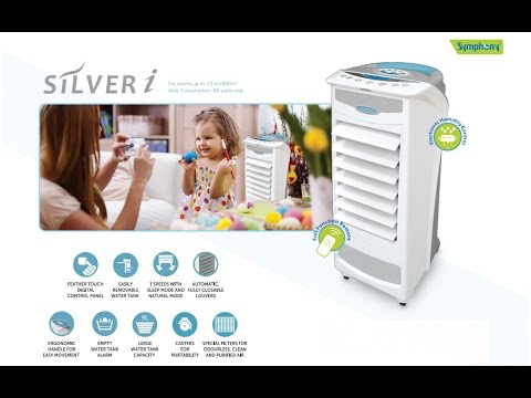 UNBOXING symphony silver-i pure 9-liters air cooler