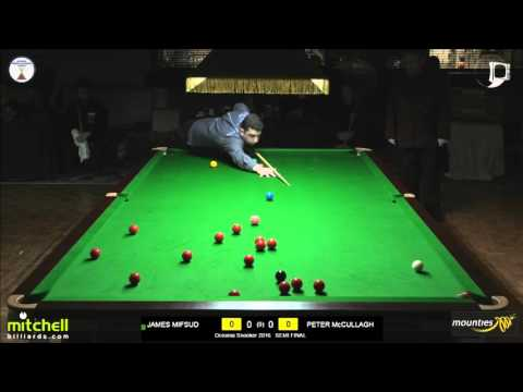 Oceania Snooker 2016 | Semi Final | James Mifsud v Peter McCullagh