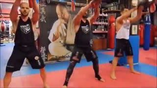 προπονήσεις της wkb hellas για το 5th global karate do point knock out tournament στην ιαπωνία