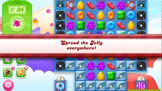 Candy Crush Jelly Saga Level 1467 (No boosters)