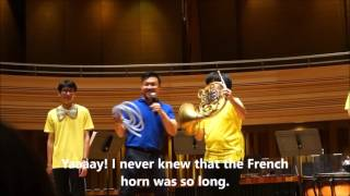 Yong Siew Toh Conservatory of Music Kids Concert Part 2 Brass Instruments