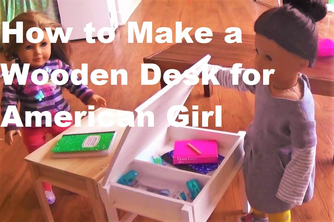 American Girl Doll Chairs Ergonomic Desk Chair No Wheels How To Make Your Own Wooden Flip Top For Dolls