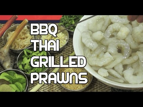 ★★ Easy Thai Shrimp - #howtocook #bbq #bbqrecipes Prawn Kebab Receipe
