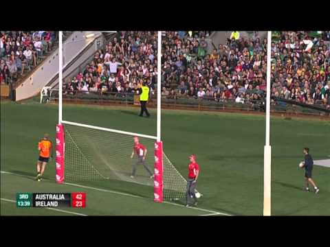 International Rules Series 2014 Highlights - Australia v Ireland