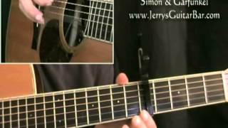 How To Play Simon & Garfunkel A Hazy Shade of Winter (preview only)