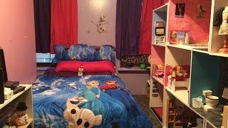 Huge American Girl Doll House Made Out Of Bookshelves 2015