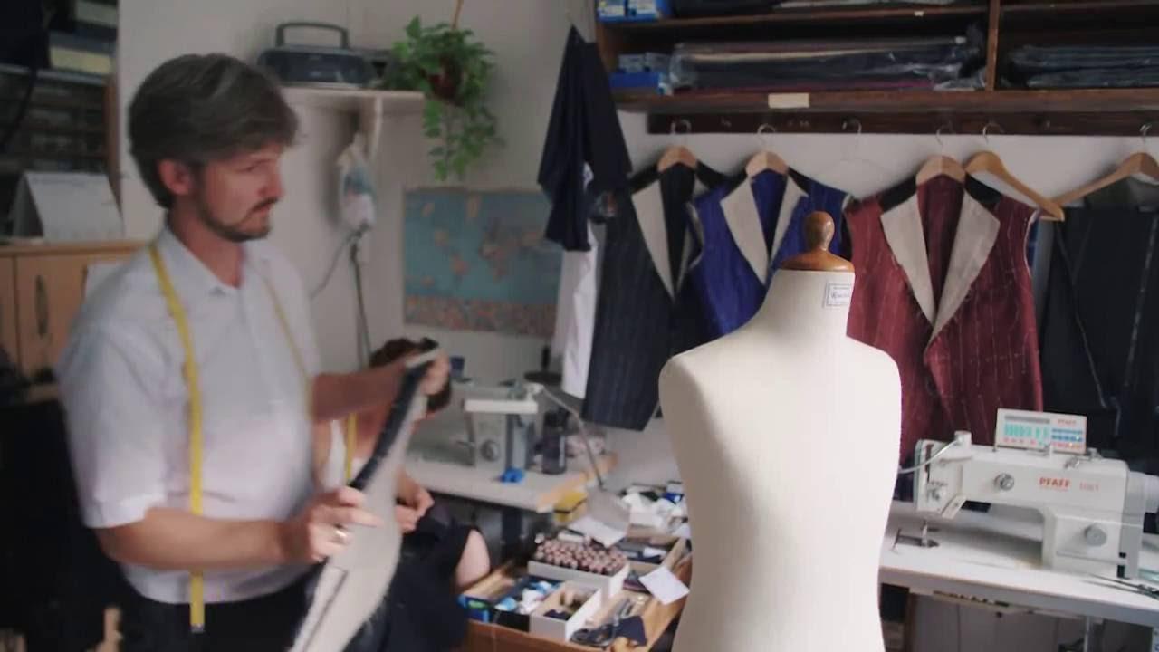 Die Produktion der Dinge: Das Schneidern eines Fracks - YouTube