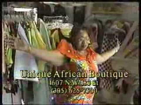 Unique African Boutique commercial
