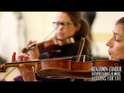 Benjamin Zander Masterclass 3.3 (Part 1) Franz Schubert, Arpeggione