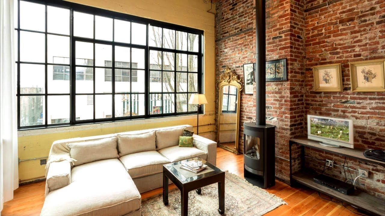 Industrial Living Room Part 1 35 Interior Design Ideas Youtube