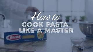 Barilla | How To Cook Pasta Like A Master (Spaghetti)