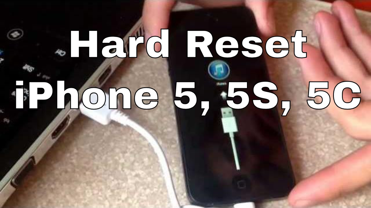 how to hard reset iphone 5c factory reset iphone 5 5s 5c 18871