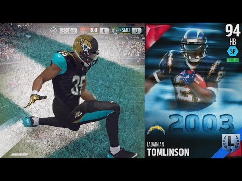 Madden 16 Ultimate Team - LaDainian Tomlinson & Mike Vick!