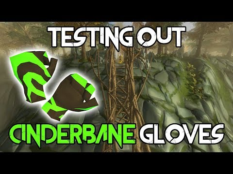 Testing out Cinderbane Gloves! | | New T85 Gloves | Are they worth it? | Runescape 2017