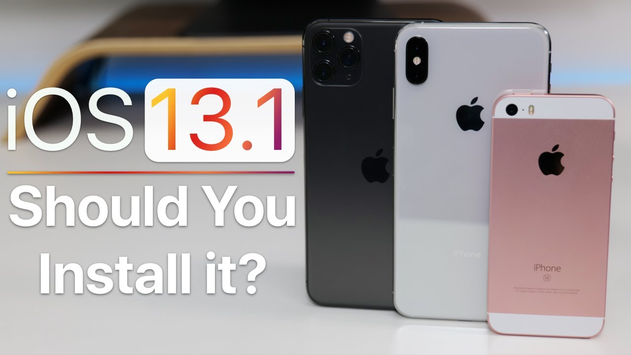 iOS 13.1 is already here. Everything new and how to get it on your iPhone or iPad