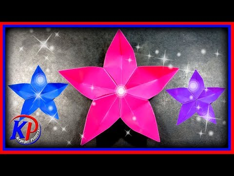 Origami Bunga Cantik dan Mudah #Cara Membuat Origami Bunga Sakura