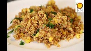 Здоровая альтернатива ПЛОВУ. Кинва(киноа) с фаршем и кукурузой. Очень вкусно и полезно!