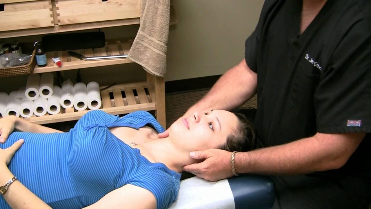 Chiropractic Neck Adjustment, Pregnancy  Child Birth