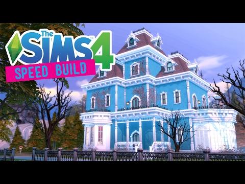 The Sims 4 -Speed Build- Vampire Dollhouse - No CC -
