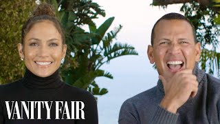Jennifer Lopez and Alex Rodriguez Answer 17 Questions in 128 Seconds | Vanity Fair