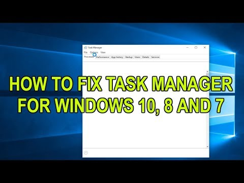 How To Fix Or Reset Task Manager To Default On Windows 10 8 And 7 Tutorial 2019