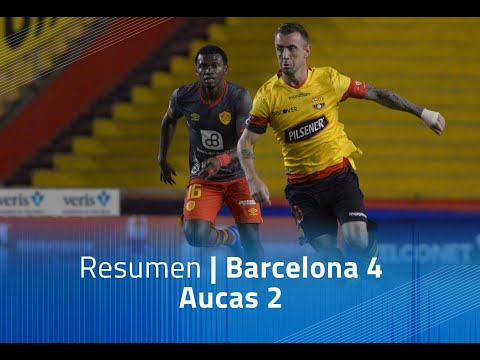 Barcelona SC Aucas Goals And Highlights