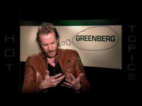 "Rhys Ifans interview ""Greenberg"""