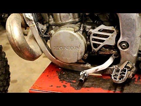 HONDA 250 CR 2000 Dans Un Sale Etat Bielettes Et Consomables SCUMMYBRAAP518
