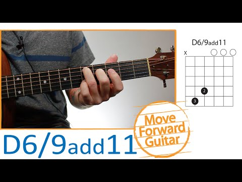 Guitar Chords for Beginners - D6/9 add11