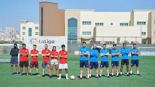 لعبنا مباراة صعبة ضد أفضل المدربين الإسبانيين من اكاديمية لا ليجا - اقوى مباراة في القناة 😱