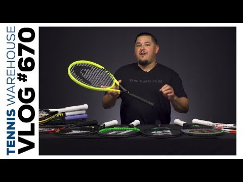 The Best Open String Pattern Tennis Racquets Of 2019 (+ Some Older Ones!) -- VLOG #670 🔥