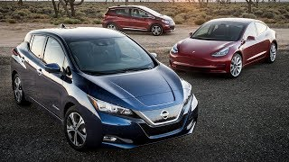 2019 Nissan LEAF's Range Beats Tesla Model 3