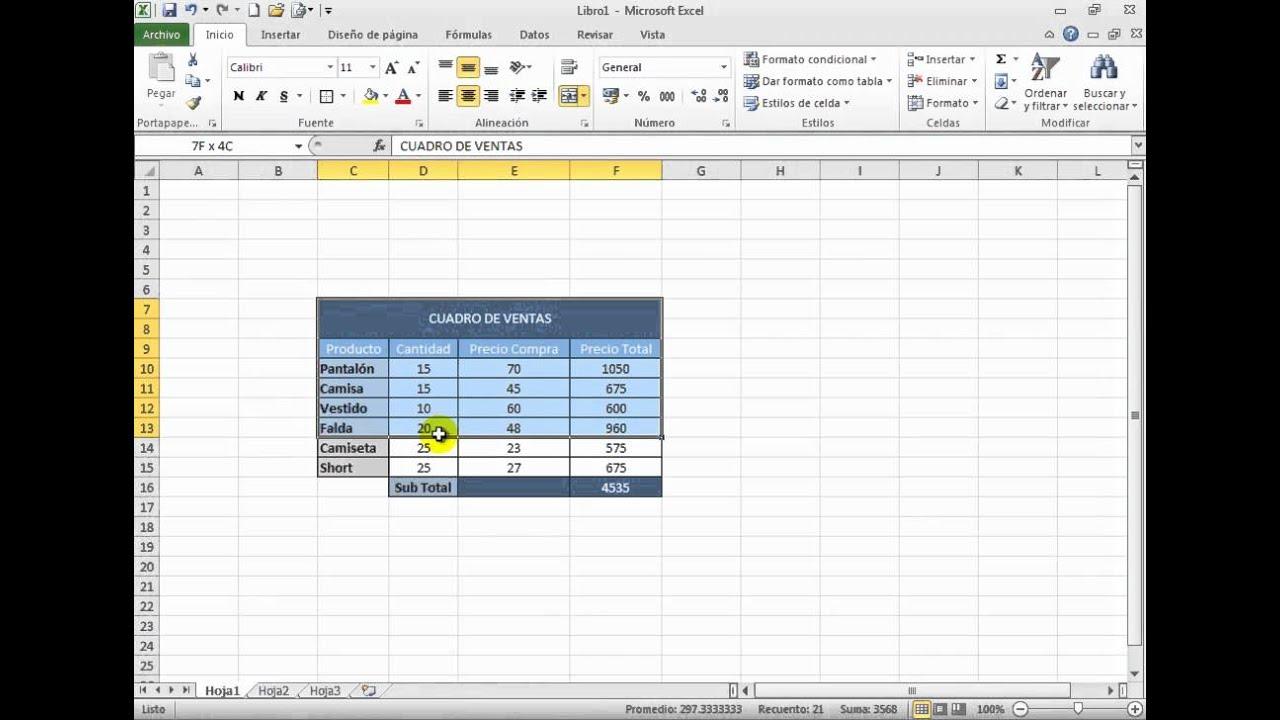 Sesión 12 7 Importar datos de Excel a Word - YouTube