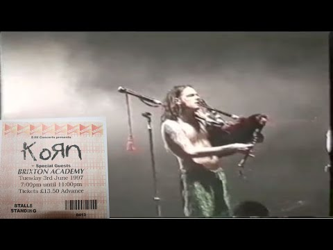 KoRn -  London, UK , Brixton Academy, 97 Full Show   [ H D ]