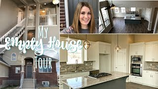MY EMPTY HOUSE TOUR :: OUR NEW UTAH HOME :: THIS CRAZY LIFE