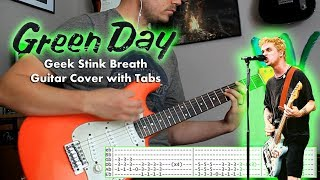 Green Day - Geek stink breath - Guitar cover with tabs