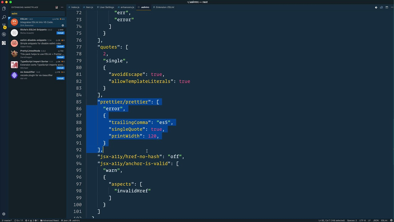 How to Setup VS Code + Prettier + ESLint