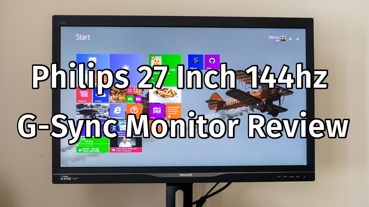Philips 272G5DYEB G Sync Monitor Review
