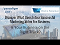 /paradigm shift - webisode S01E02 - Create a Successful Marketing Video For Business