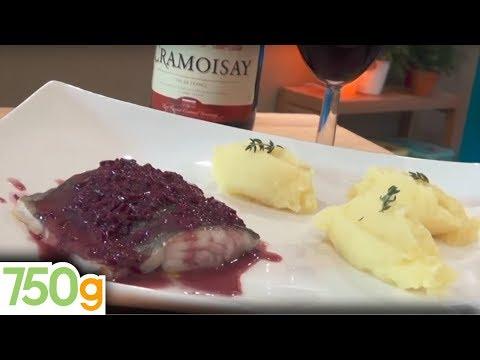 recette-de-cabillaud-confit,-sauce-beurre-rouge,-purée-à-l'huile-d'olive---750g