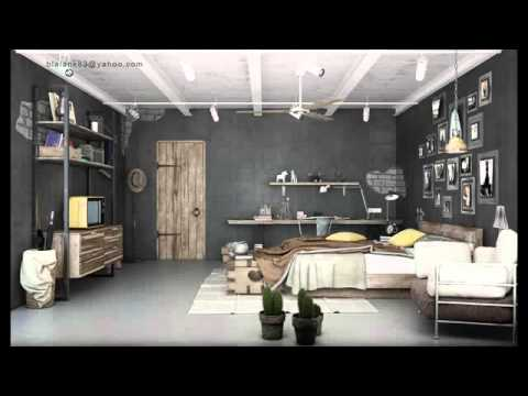 Garage Apartment Interior Design Youtube