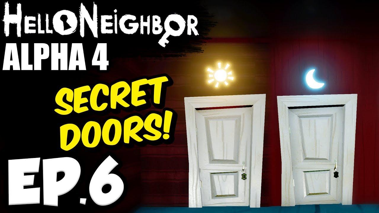 Hello Neighbor [Alpha 4] Ep.6 - OPENING THE SECRET SUN \u0026 MOON DOORS!!! ( Hello Neighbor Alpha 4 Game)  sc 1 st  YouTube & Hello Neighbor [Alpha 4] Ep.6 - OPENING THE SECRET SUN \u0026 MOON DOORS ...