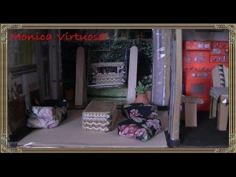 Muebles de sala para casa de muñecas   youtube
