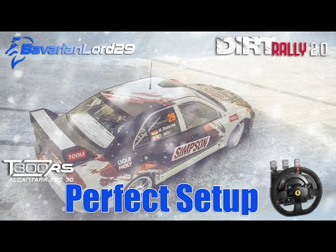 Thrustmaster T300 perfect and immersive Setup - Dirt Rally 2.0